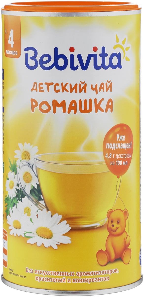 все цены на Bebivita Ромашка чай гранулированный, с 4 месяцев, 200 г онлайн