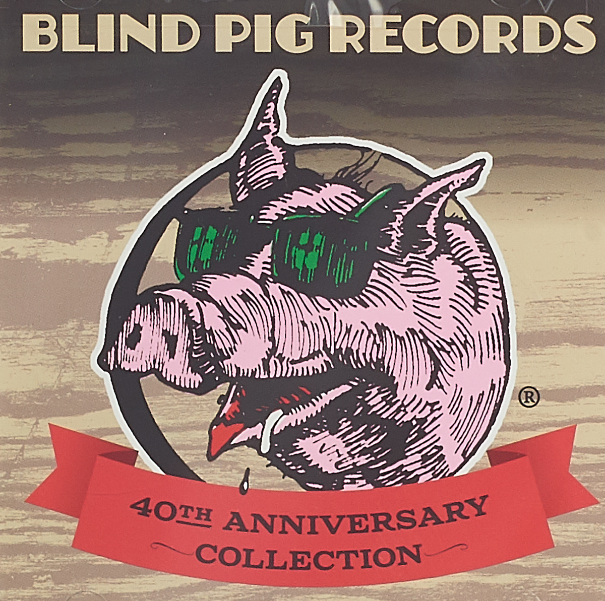 Blind Pig Records. 40th Anniversary Collection (2 CD) odessey and oracle 40th anniversary live concert
