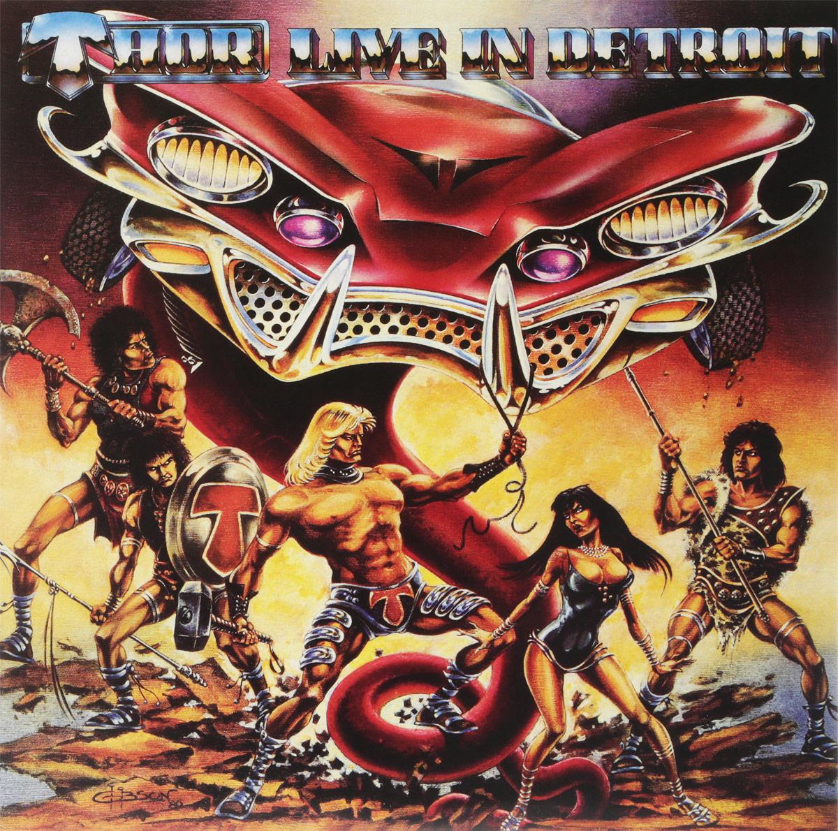 Thor Thor. Live In Detroit 1985 (LP) dave hamilton s detroit dancers lp