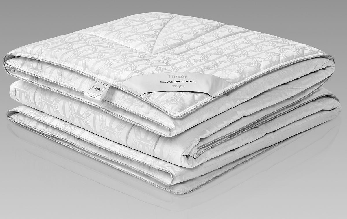 Одеяло Togas Виенто, наполнитель: верблюжий пух, цвет: белый, 200 x 210 см одеяло детское togas togas mp002xc001h3