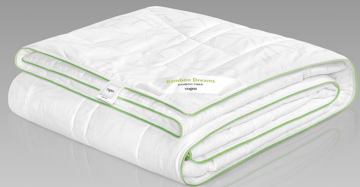 Одеяло Togas Бамбук Дримс, наполнитель: бамбуковое волокно, цвет: белый, 200 x 210 см одеяло детское togas togas mp002xc001h3