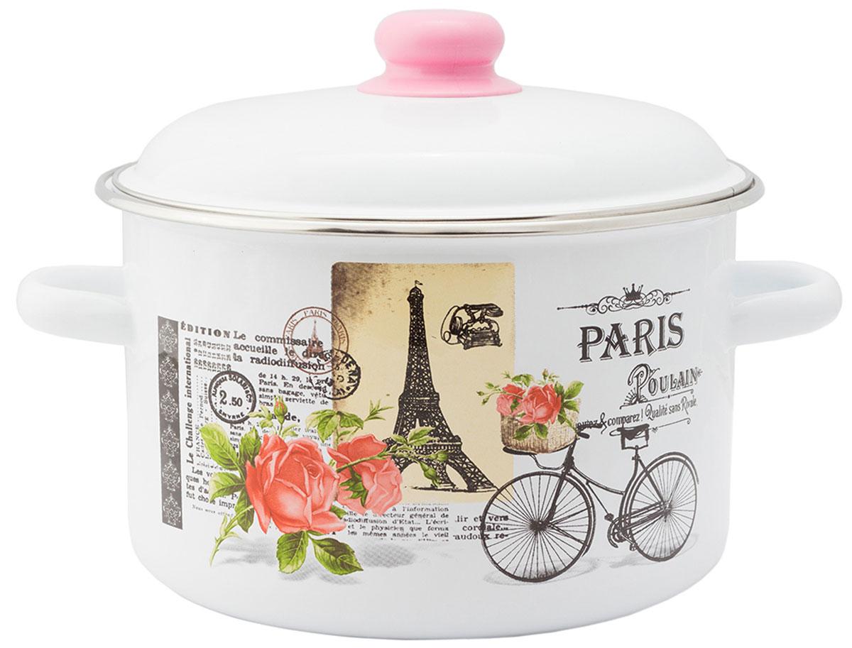"""Кастрюля Appetite """"Париж"""", с крышкой, 2 л"""