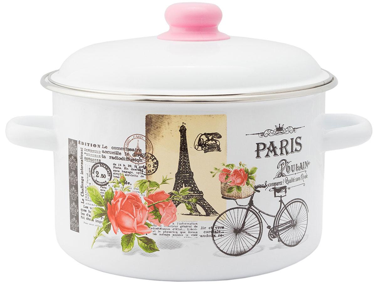 """Кастрюля Appetite """"Париж"""", с крышкой, 3 л"""