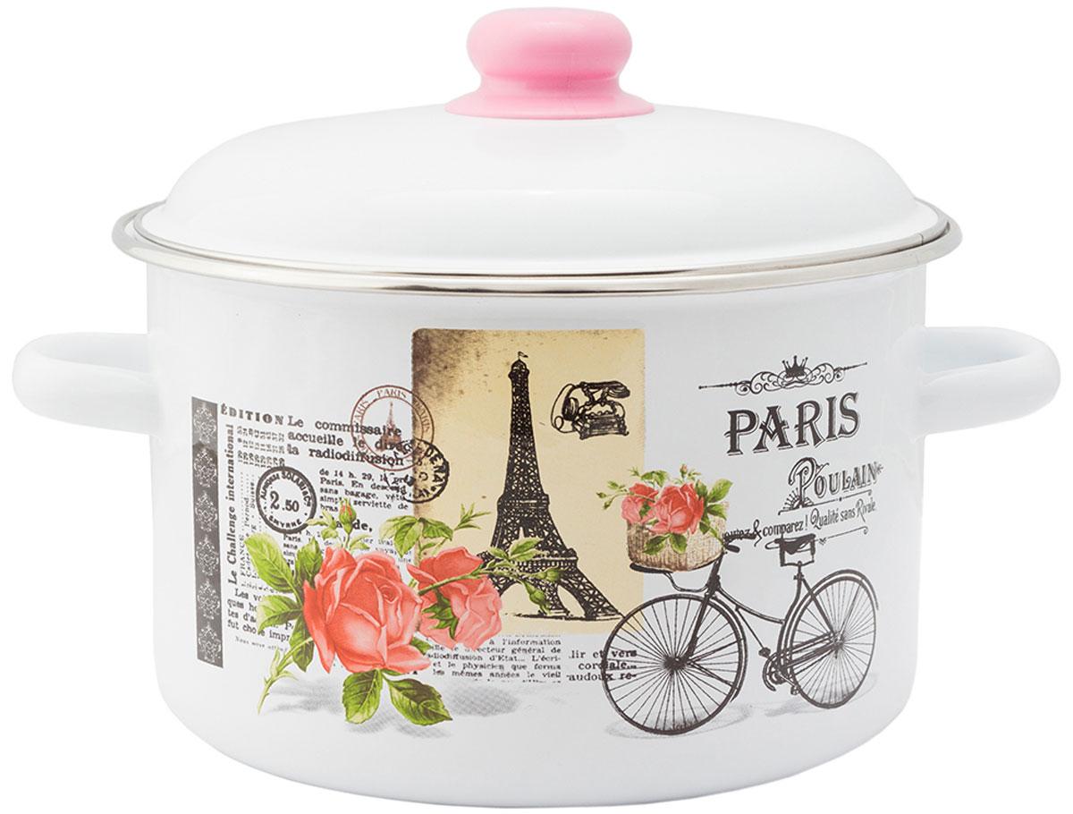 """Кастрюля Appetite """"Париж"""", с крышкой, 5,5 л"""