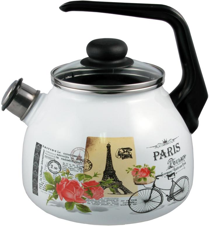 """Чайник Appetite """"Париж"""", со свистком, 3 л"""