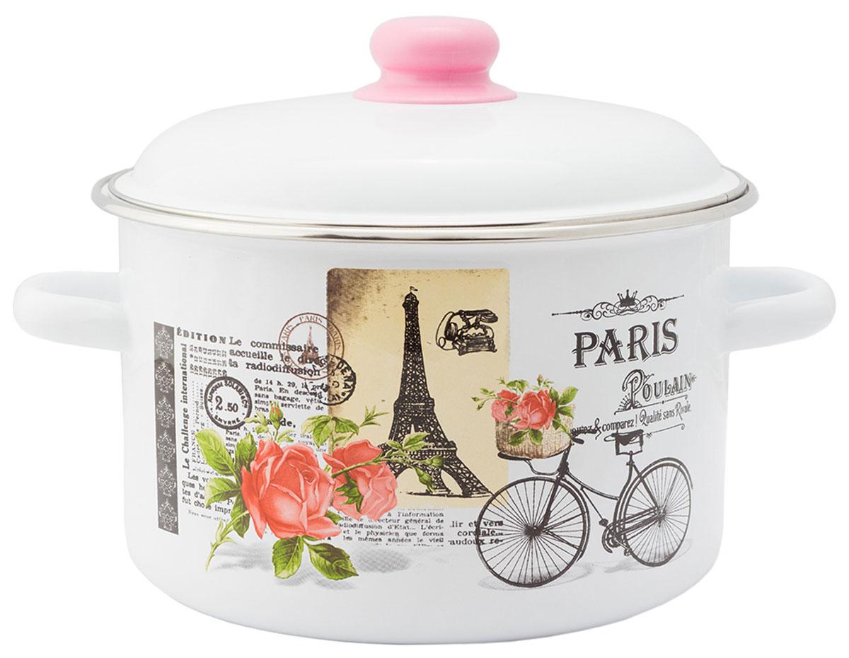 """Кастрюля Appetite """"Париж"""", с крышкой, 4 л"""