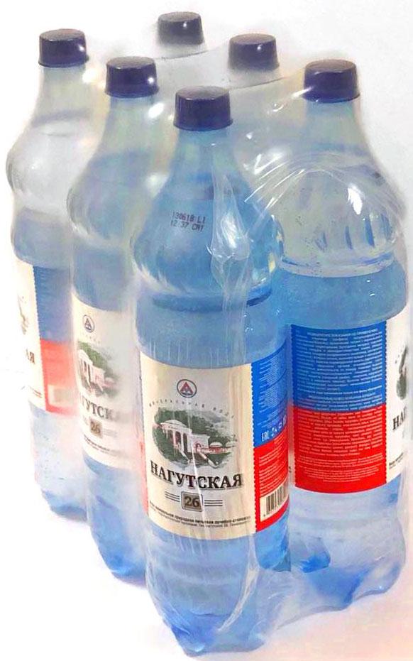 Нагутская Вода минеральная, 6 шт по 1,5 л