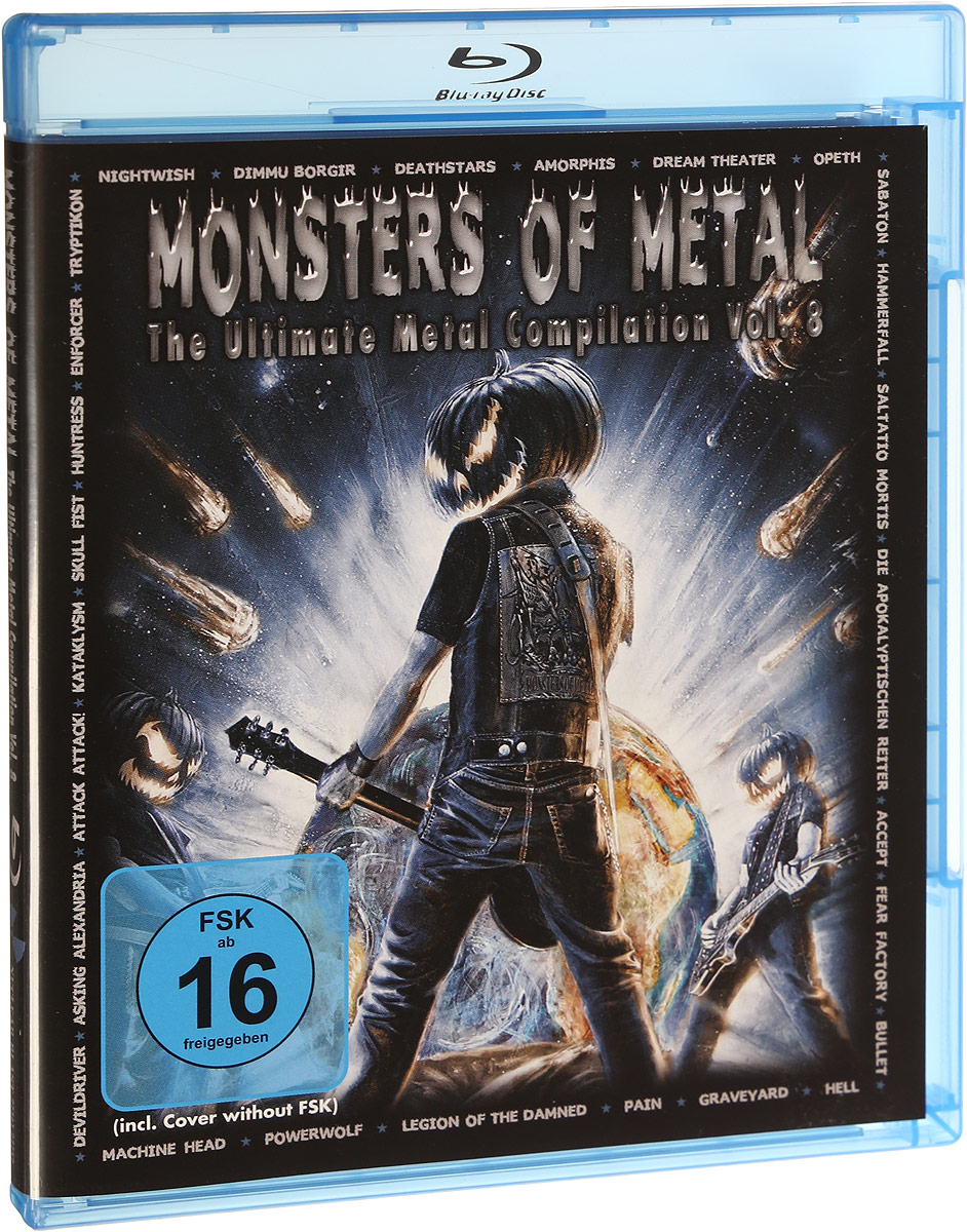 Nightwish,Deathstars,Opeth Monsters Of Metal Vol. 8 (Blu-Ray) opeth opeth morningrise 2 lp