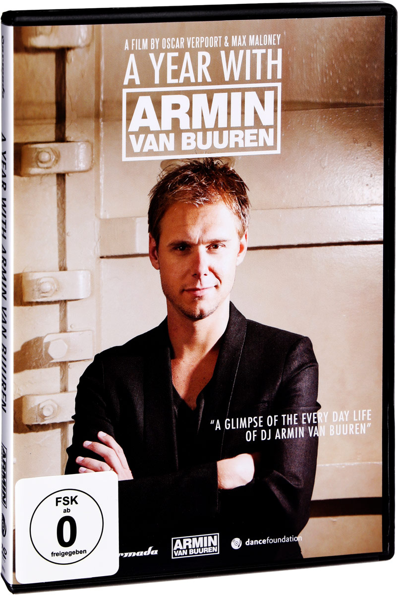 Армин Ван Бюрен Armin Van Buuren. A Year With Armin Van Buuren футболка классическая printio армин ван бюрен armin van buuren