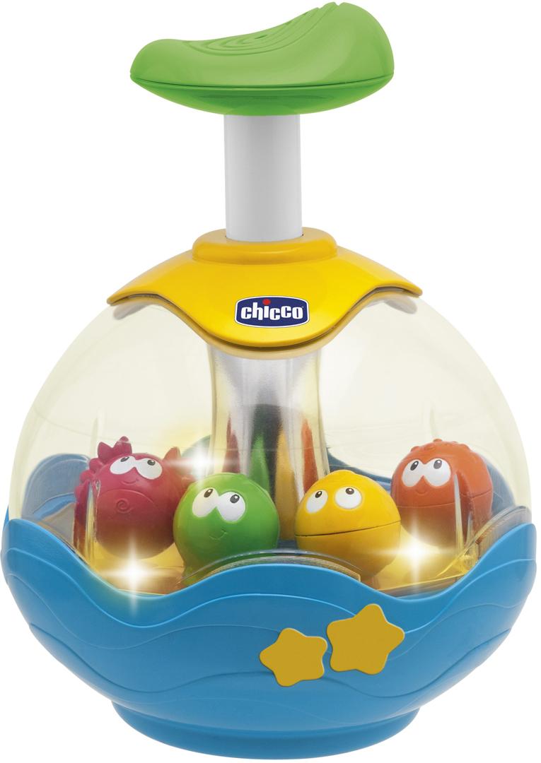 Chicco Игрушка развивающая Юла Aquarium