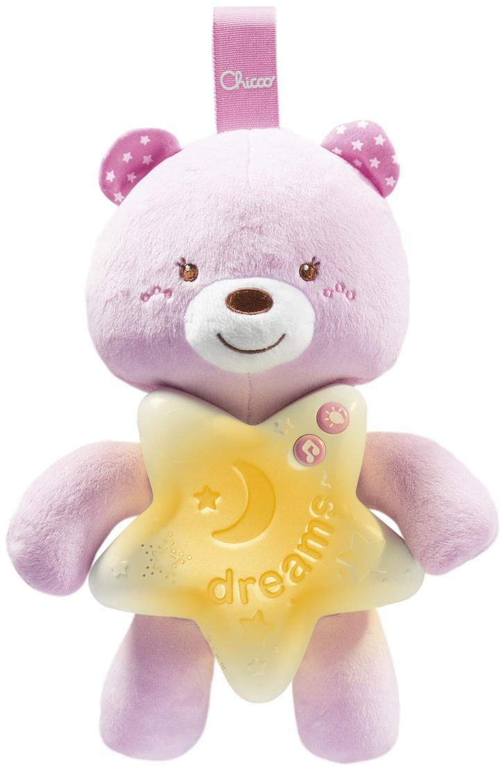 Chicco Подвеска Медвежонок цвет розовый