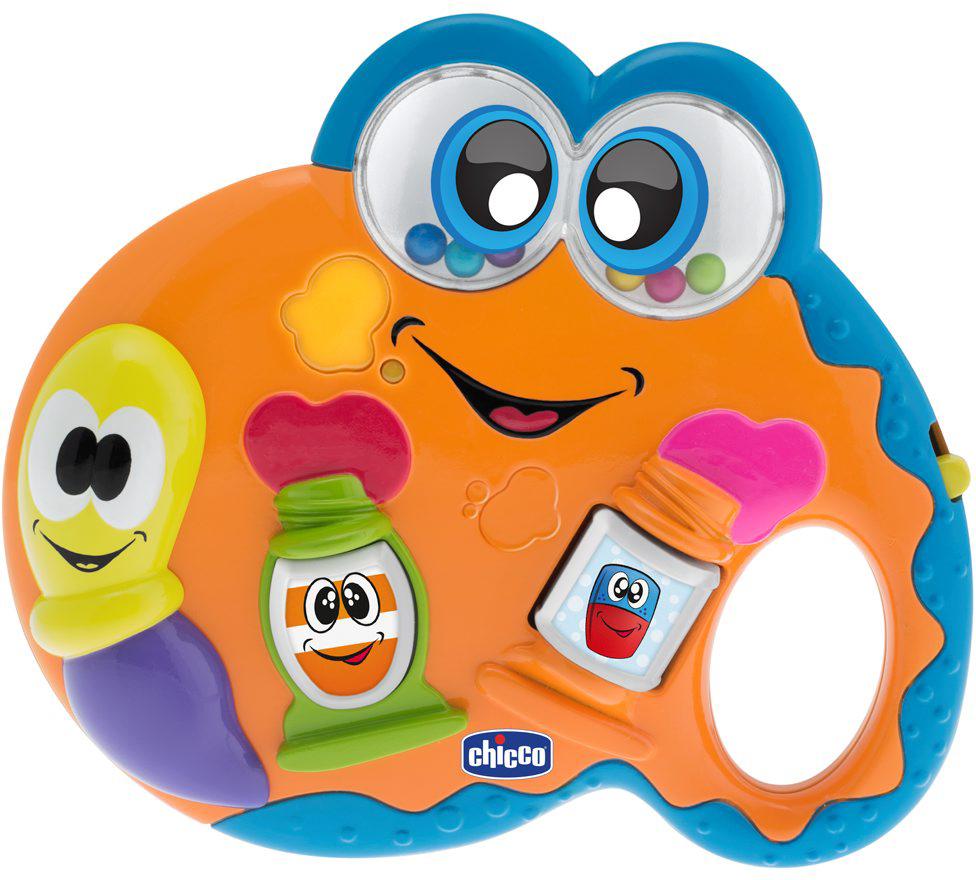 Chicco Музыкальная игрушка Палитра музыкальная игрушка мир детства счастливая гусеничка