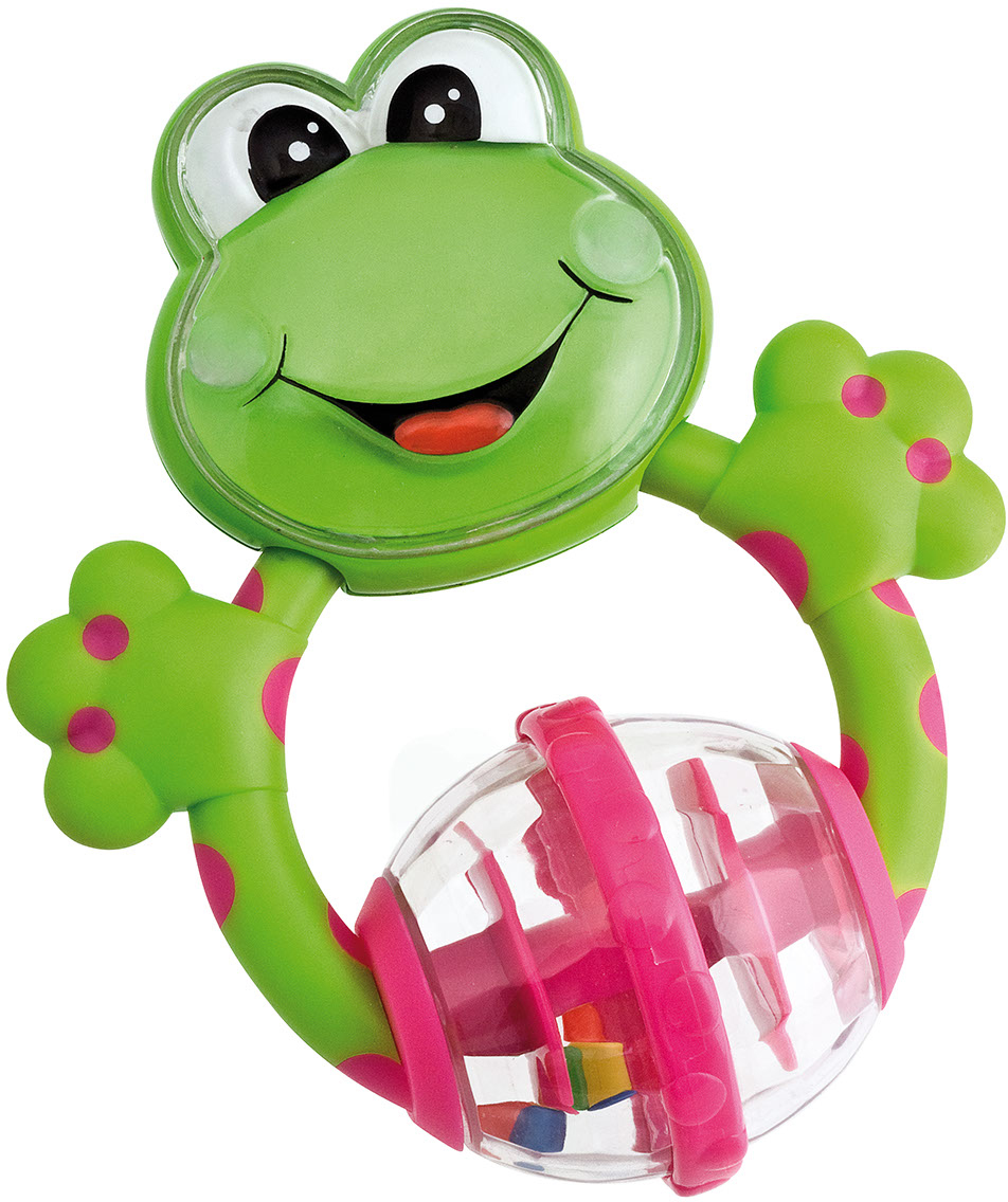 Chicco Игрушка-погремушка Лягушка серебряные ложка и погремушка лягушка ри77нб05801