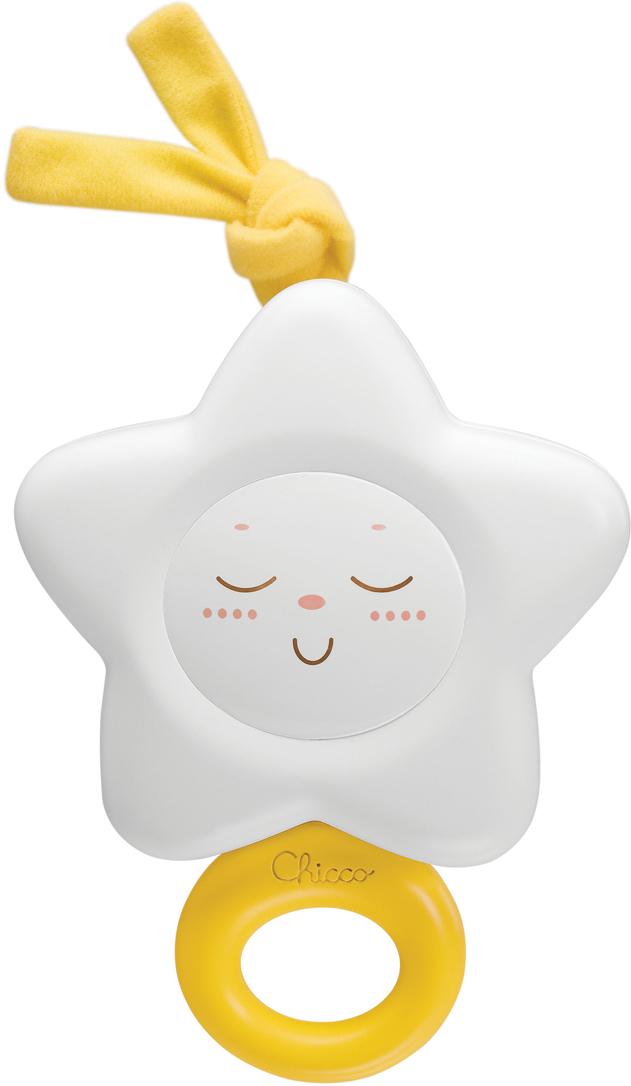 Chicco Музыкальная игрушка-подвеска Звездочка цвет белый музыкальная подвеска на кроватку chicco чико спокойной ночи цвет розовый
