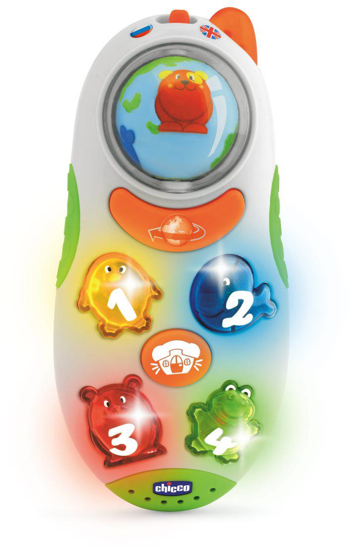 Chicco Развивающая игрушка Говорящий телефон
