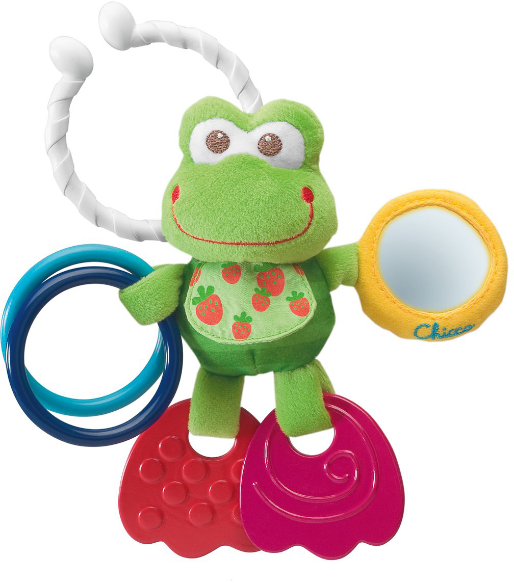 Chicco Игрушка-погремушка Лягушонок игрушка для ванной chicco лягушонок