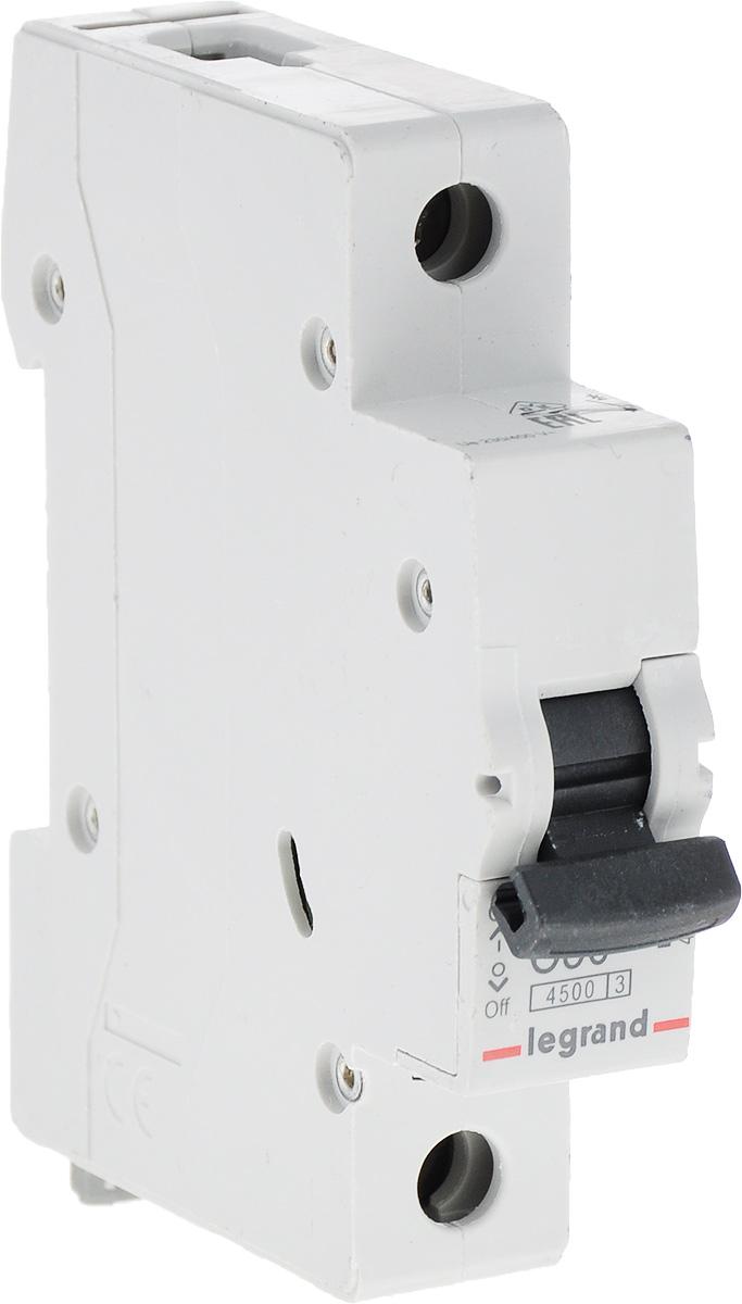 Выключатель автоматический Legrand 1Р 50A (С) 4.5kA RX3 цена