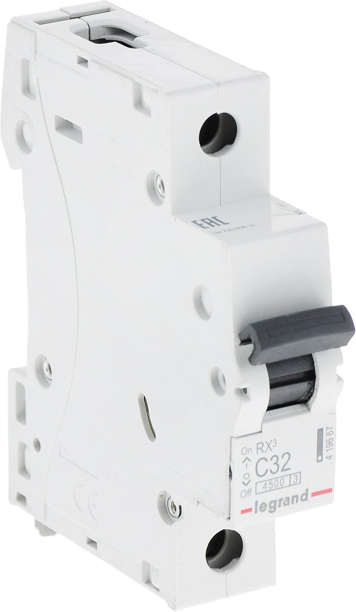 Выключатель автоматический Legrand 1Р 32A (С) 4.5kA RX3