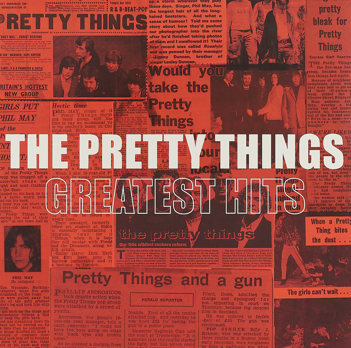 The Pretty Things The Pretty Things. Greatest Hits (2 LP) cd george benson the greatest hits of all