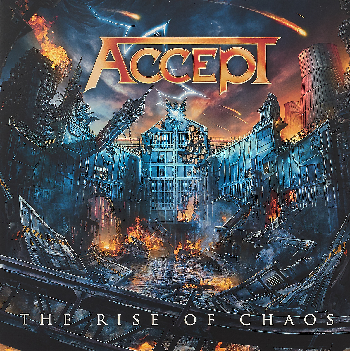 Accept Accept. The Rise Of Chaos (Black Vinyl) (2 LP) chaos панама chaos stratus sombrero