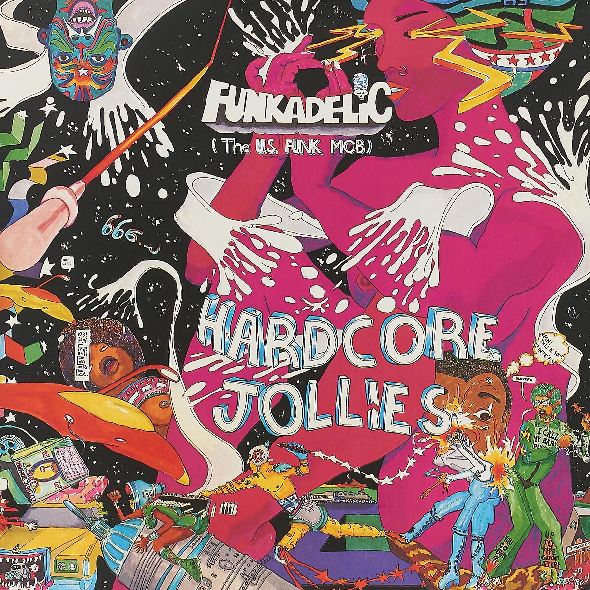 Фото - Funkadelic Funkadelic. Hardcore Jollies (LP) funkadelic funkadelic one nation under a groove 2 cd
