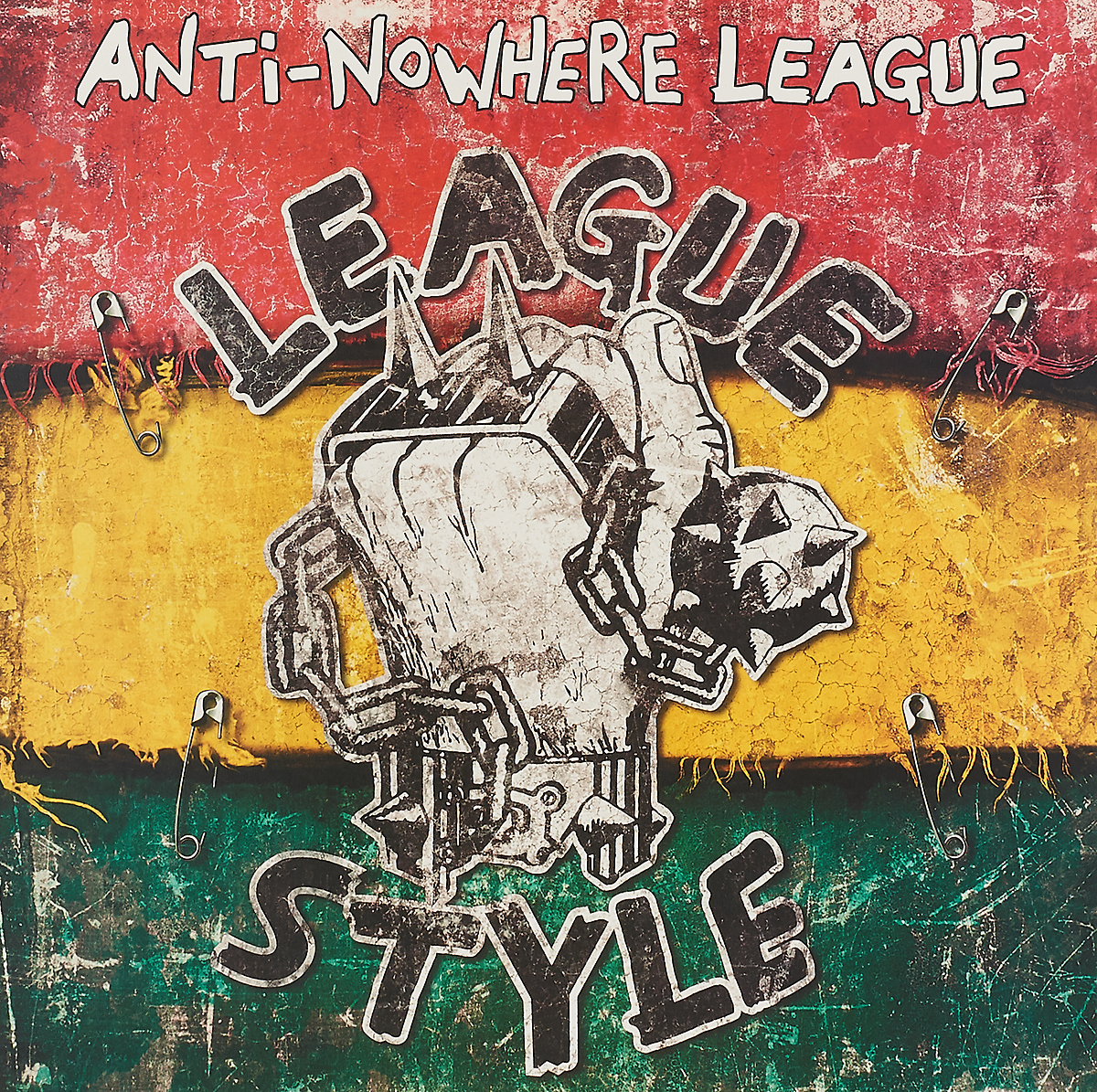 Anti-Nowhere League. League Style (LP)