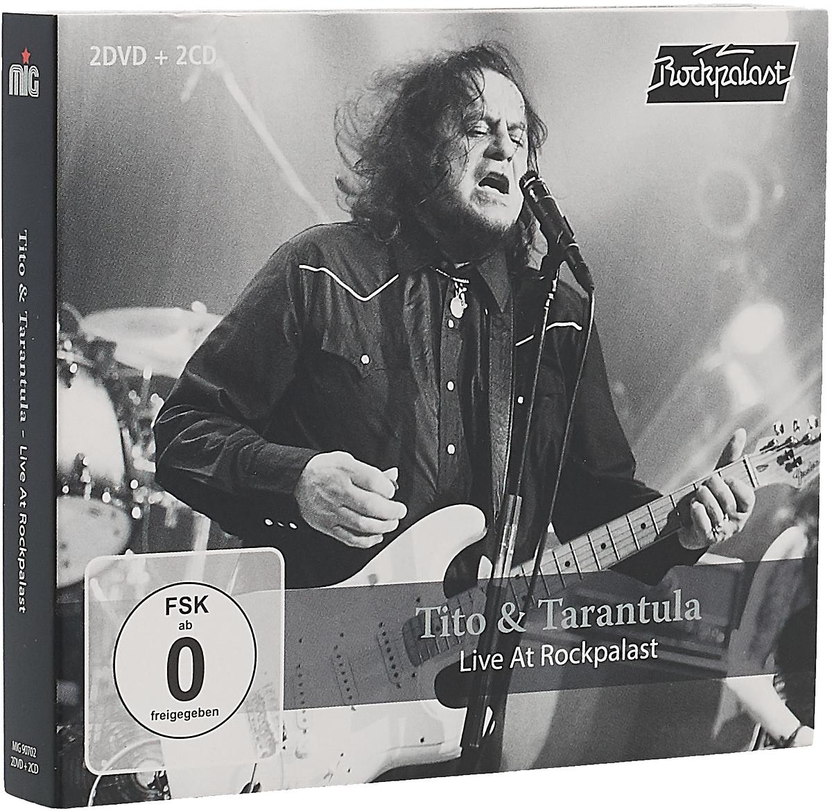 Tito & Tarantula Tito & Tarantula. Live At Rockpalast 2008 & 1998 (2 CD + 2 DVD)