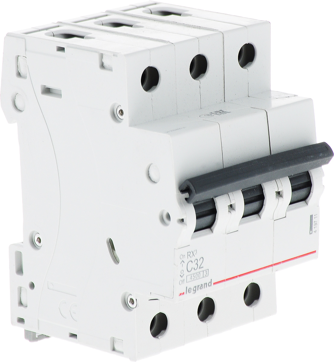 Выключатель автоматический Legrand 3Р 32A (С) 4.5kA RX3