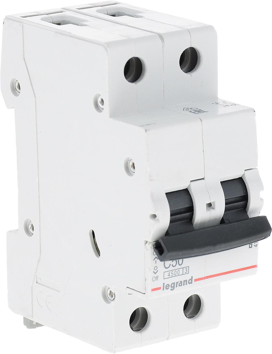 Выключатель автоматический Legrand 2Р 50A (С) 4.5kA RX344348