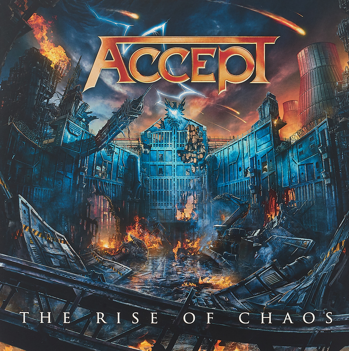 Accept Accept. The Rise Of Chaos (2 LP) the hand of chaos