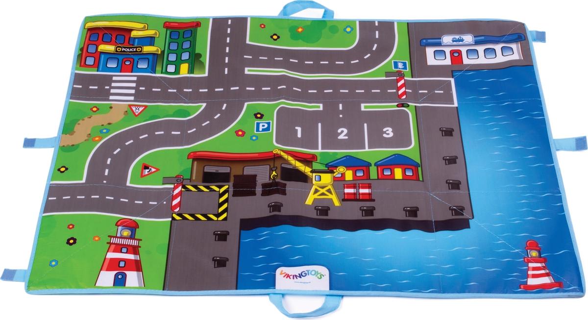 Viking Toys Игровой набор Viking City Коврик-сумка Гавань