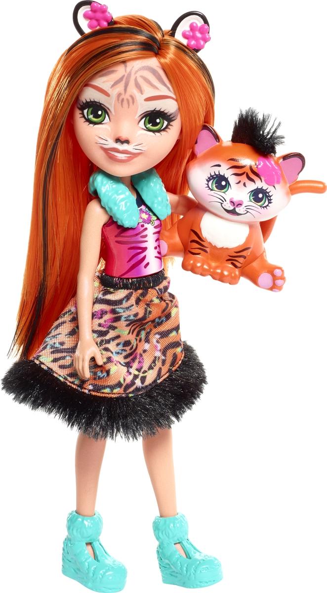 Enchantimals Игровой набор Кукла со зверюшкой FNH22_FRH39 кукла enchantimals с любимой зверюшкой dvh87 fnh22 кейли коровка