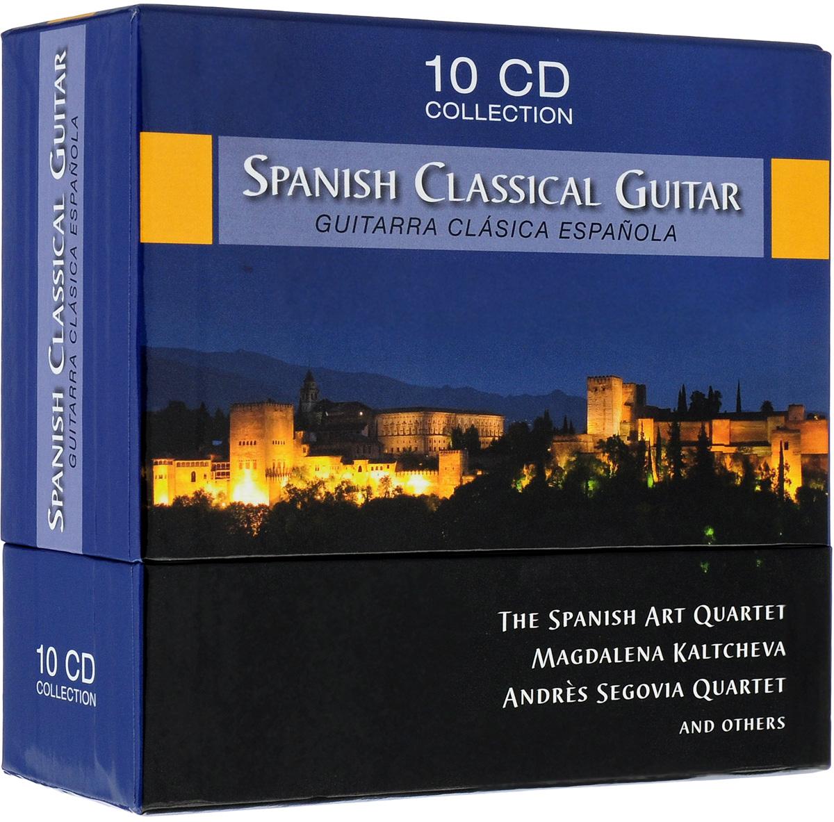 Spanish Art Guitar Quartet,Magdalena Kaltcheva,Andres Segovia Quartet Spanish Art Guitar Quartet, Magdalena Kaltcheva, Andres Segovia Quartet. Spanish Classical Guitar (10 CD) magdalena george hals