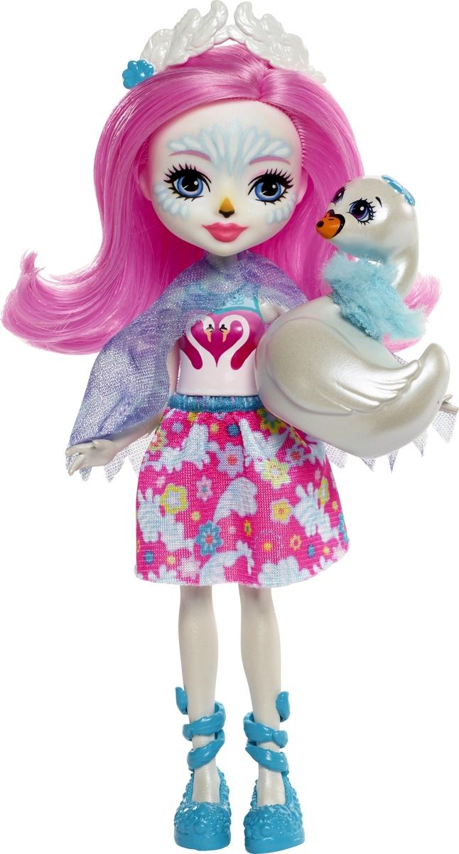 Фото - Игровой набор Enchantimals с куклой Дополнительная кукла со зверюшкой. FNH22_FRH38 enchantimals игровой набор кукла со зверюшкой fnh22 fjj21