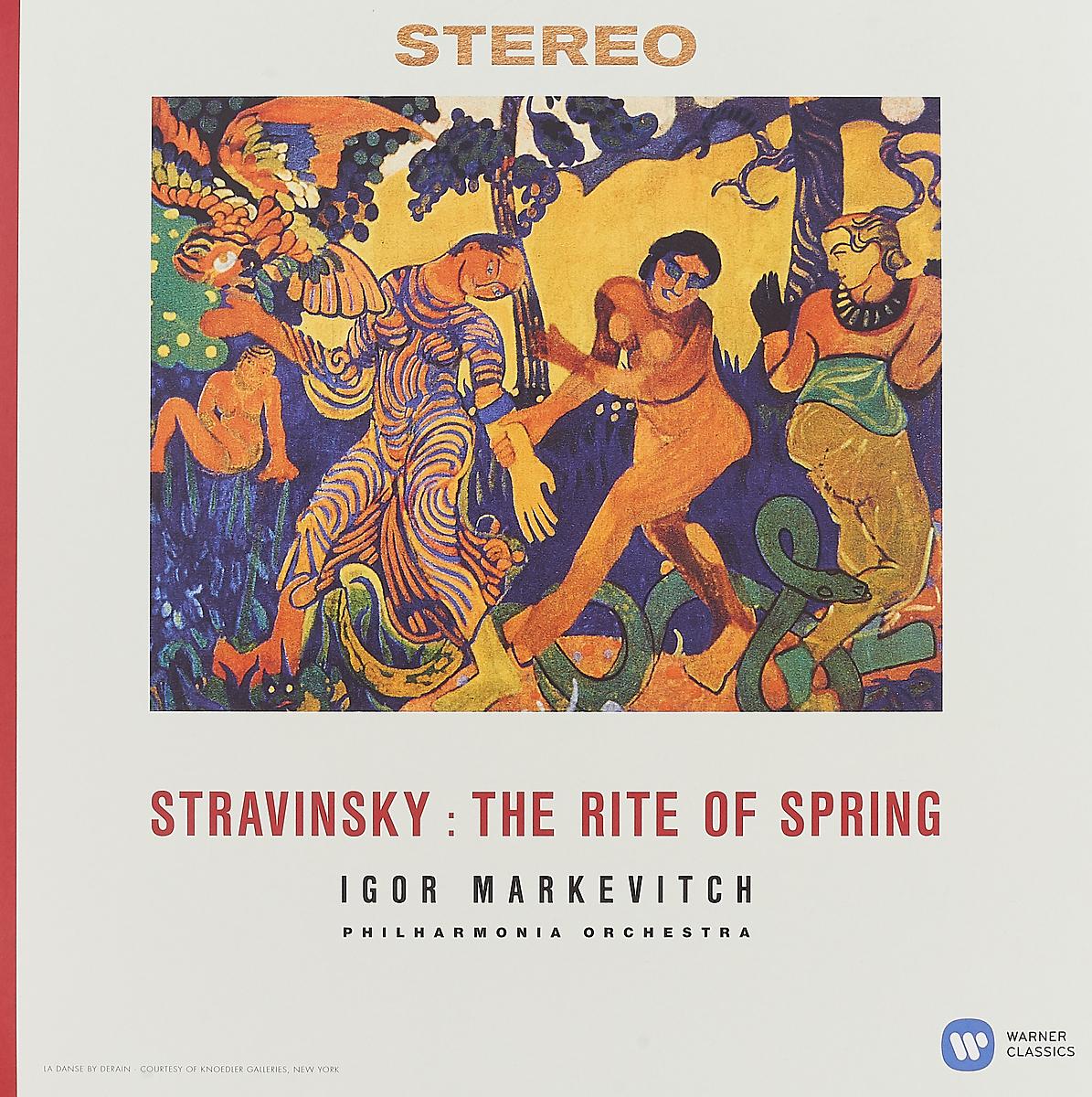 Игорь Маркевич Igor Markevitch, Philharmonia Orchestra. Igor Stravinsky. The Rite Of Spring (LP) недорго, оригинальная цена