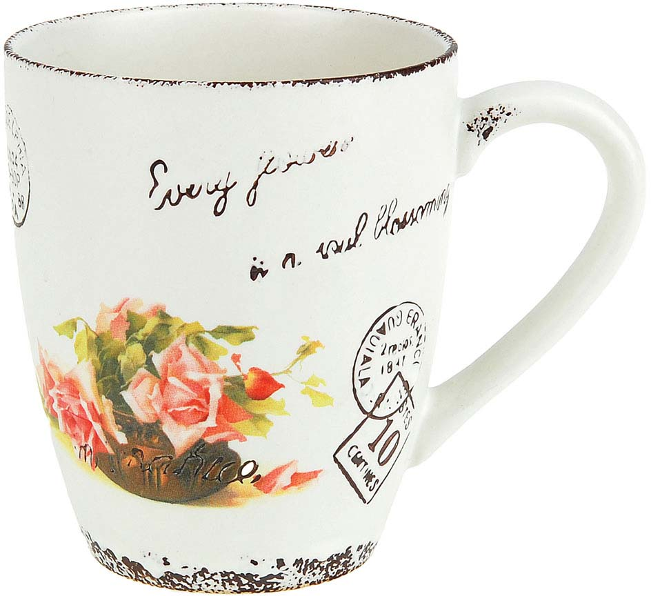 Кружка ENS Group Персиковая роза, 325 мл чайник заварочный ens персиковая роза 1 л