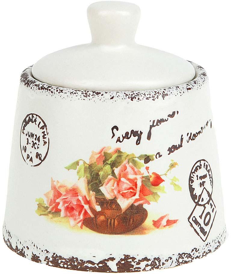 Сахарница ENS Group Персиковая роза, 200 мл кружка ens group персиковая роза 325 мл