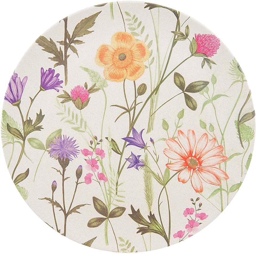 """Блюдо BHK """"Луговые цветы"""", диаметр 25,5 см"""
