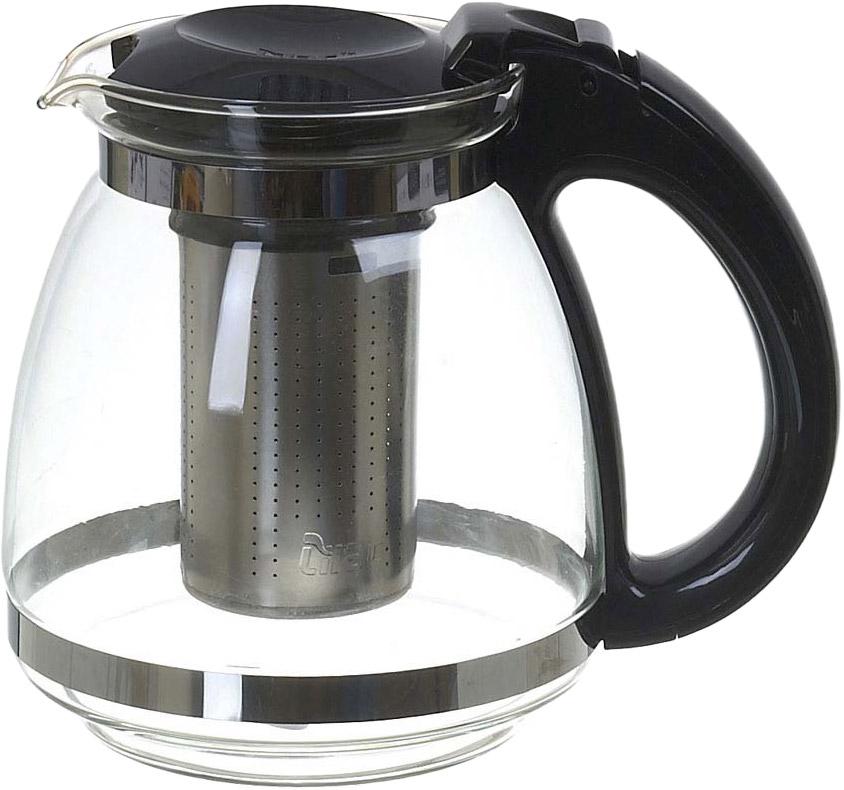 Чайник заварочный Lilac, с фильтром, 1,2 л. 5520006 чайник заварочный lilac 5520010 1 прозрачный черный 1 5 л
