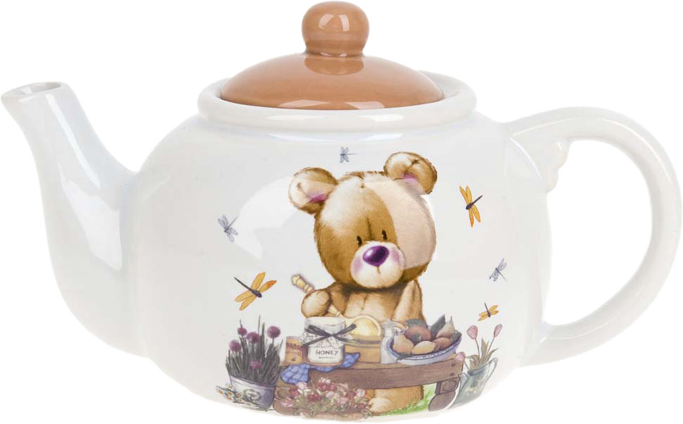 Чайник заварочный Polystar Collection Berny, 950 мл чайник заварочный polystar collection мимимишки 1 1 л