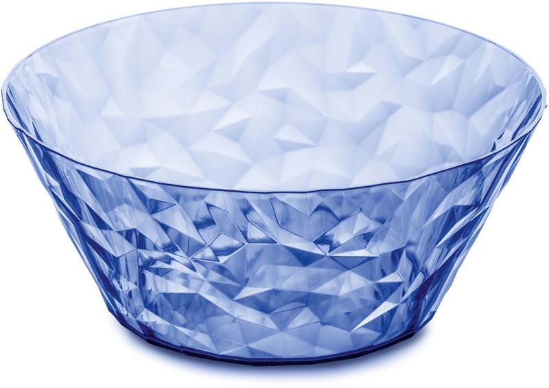 "Салатник Koziol ""Superglas Club"", цвет: голубой, 3,5 л"