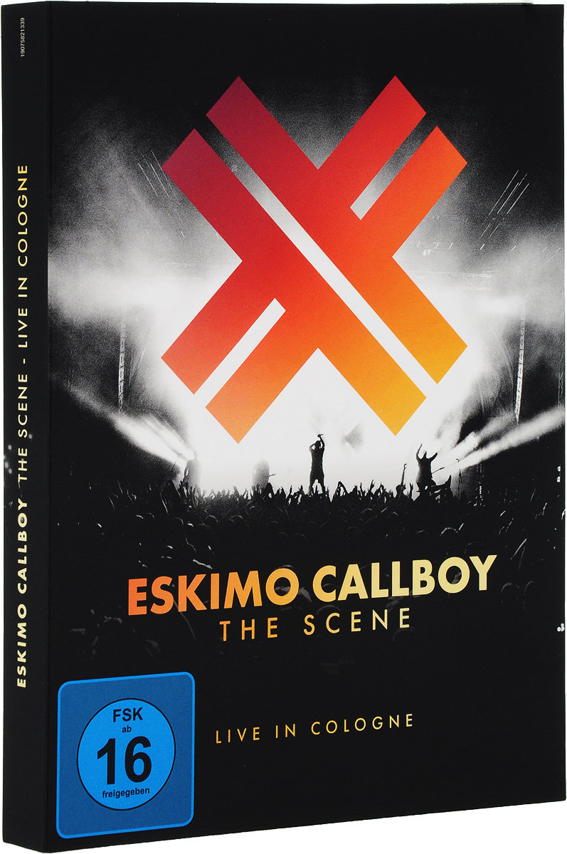 Eskimo Callboy Eskimo Callboy. The Scene - Live In Cologne (CD + Blu-Ray + DVD) rolling stones the from the vault live in leeds 1982 dvd 2 cd