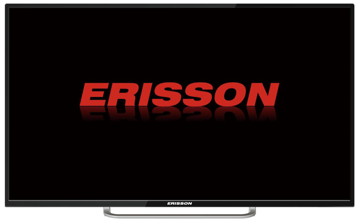 Фото - Телевизор Erisson 55ULEA18T2SM 55, черный телевизор 50 erisson 50flea18t2sm full hd 1920x1080 smart tv черный