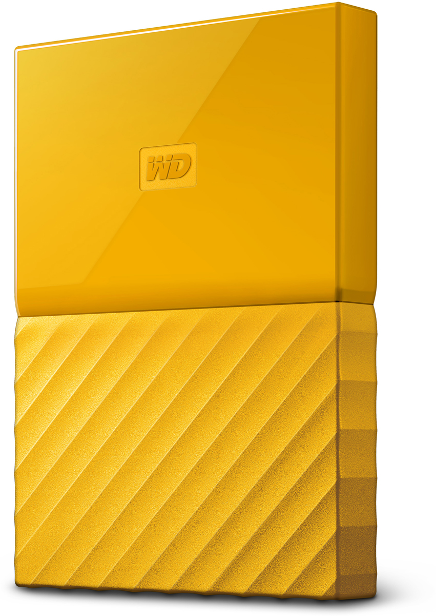 WD My Passport 2TB, Yellow внешний жесткий диск (WDBLHR0020BYL-EEUE) цена и фото
