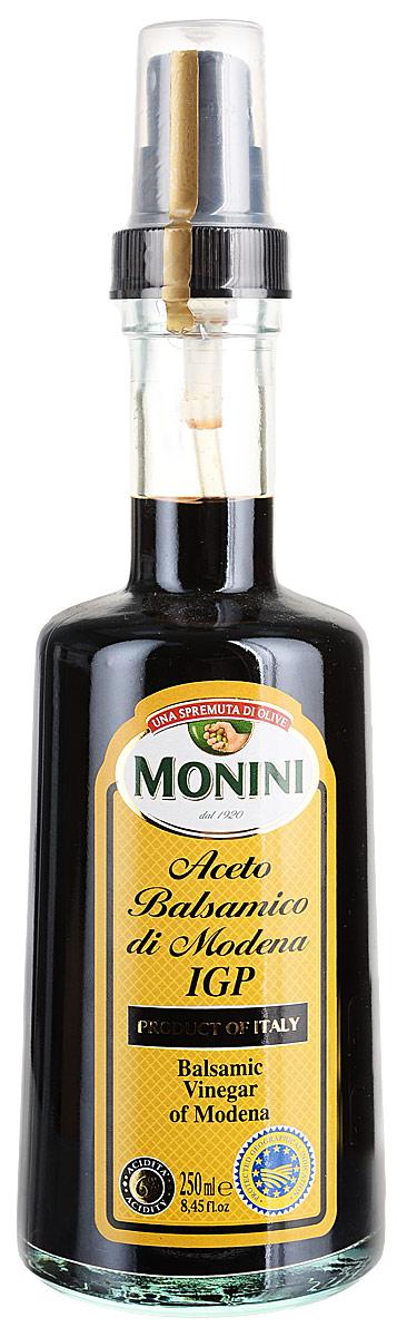 Monini Spray Aceto Balsamico уксус винный бальзамический, 250 мл бальзамический крем papadimitriou с апельсином и лимоном 250 мл