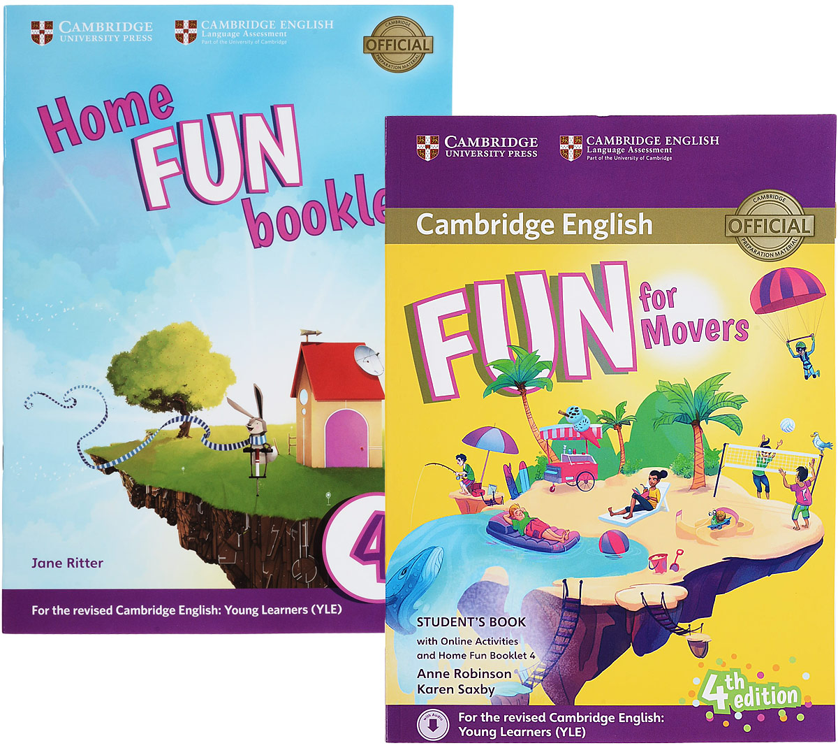 Cambridge English: Fun for Movers: Student's Book with Online Activities, with Home Fun Booklet cambridge movers 1