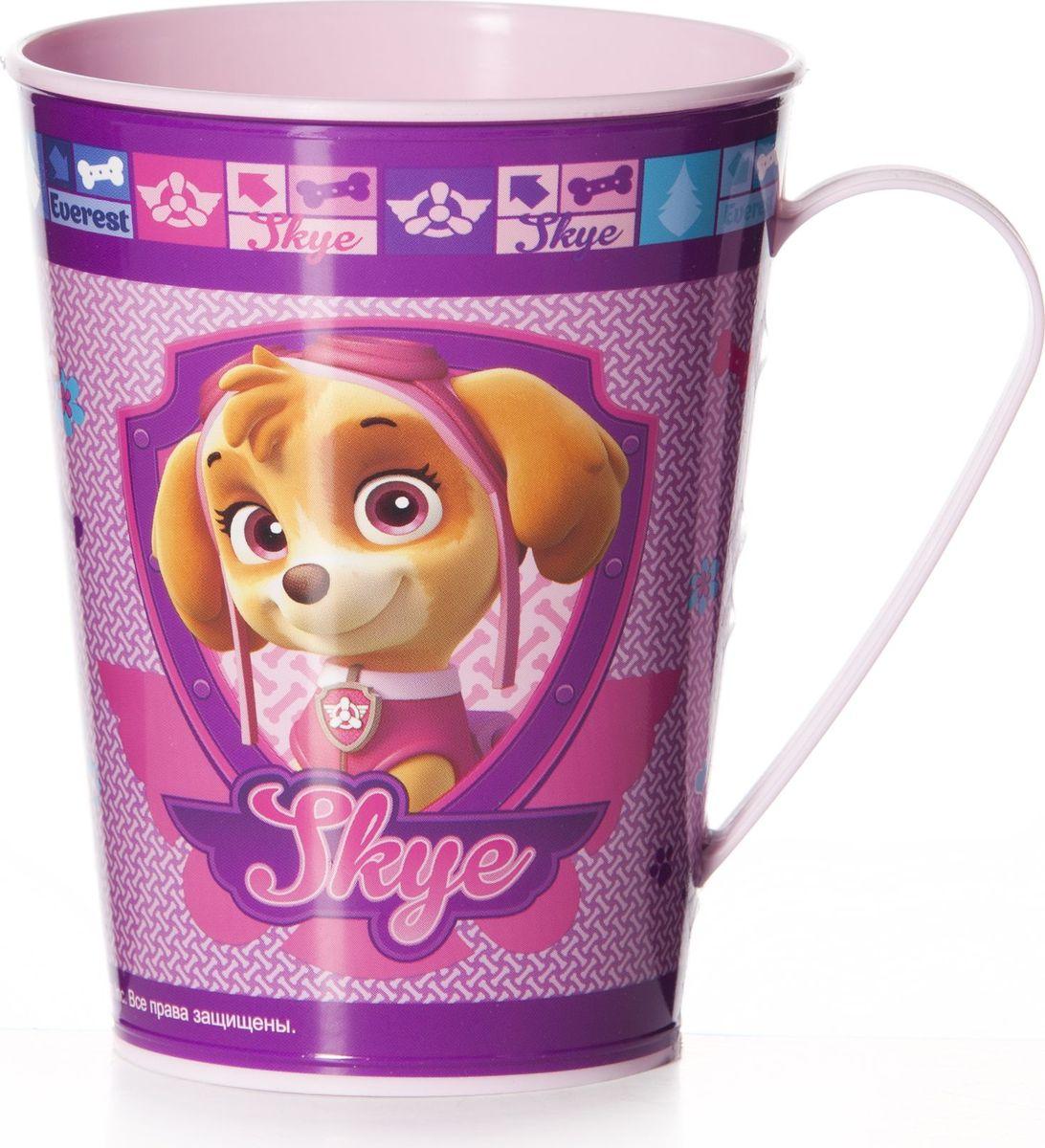 Кружка для девочек Альтернатива Щенячий патруль, цвет: розовый, 350 мл щенячий патруль часы