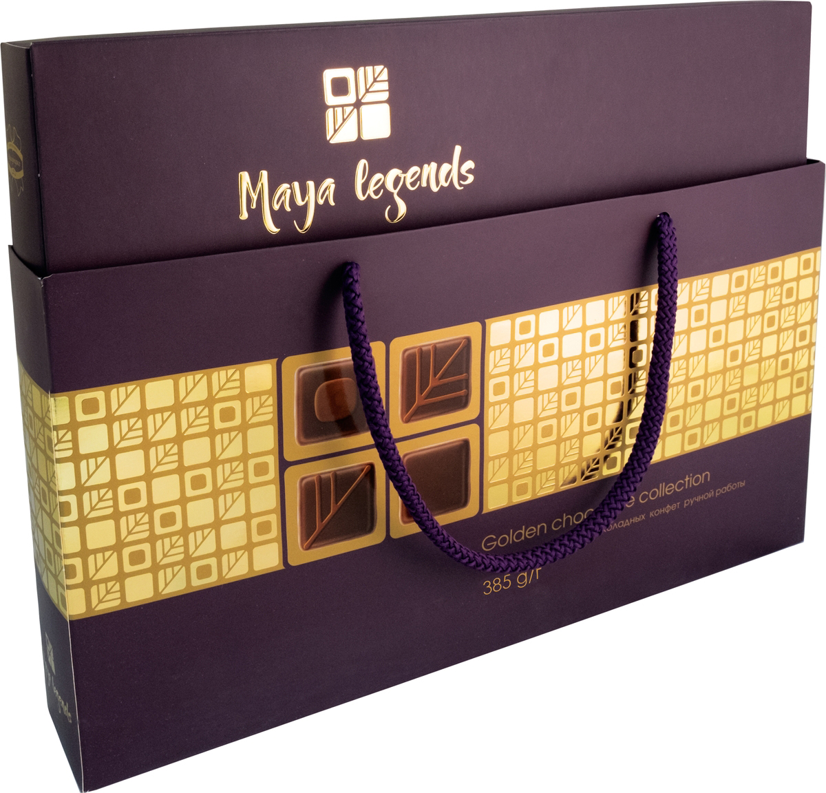 Коммунарка Легенды майя набор конфет цвет темный, 385 г коммунарка цитрон топ глазированная помадка со вкусом лимона конфеты 200 г