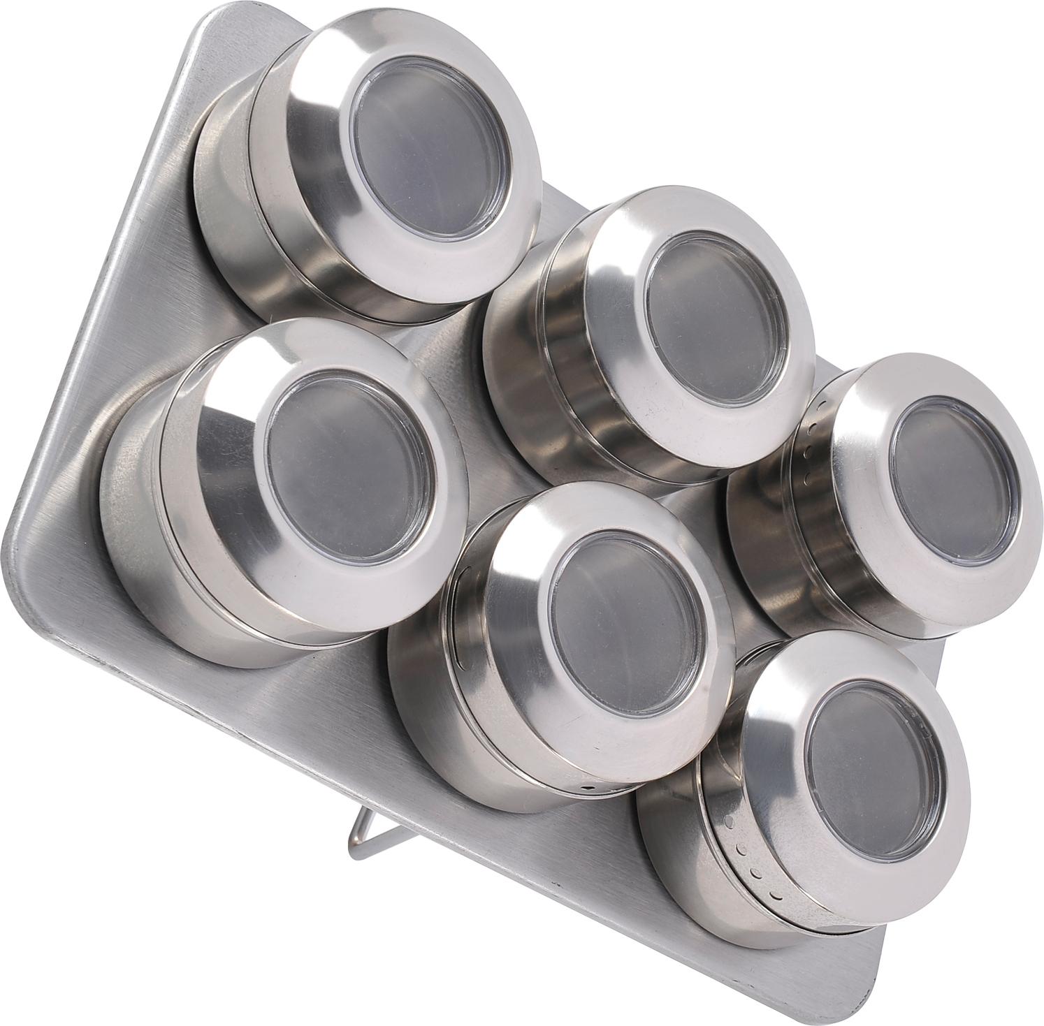 """Набор для специй """"Rainstahl"""", емкости с магнитами, 7 предметов. 8703-06RS/SR"""
