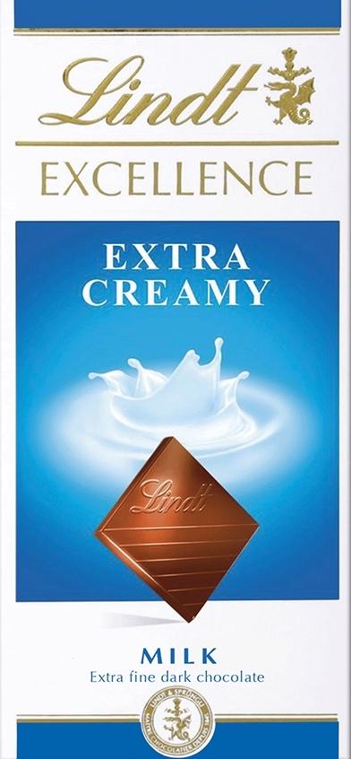 Lindt Excellence молочный шоколад, 100 г шоколад молочный lindt creation пралине с вафлей 150 г